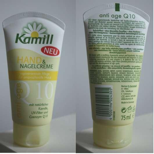 Kamill Hand & Nagelcreme anti age Q10