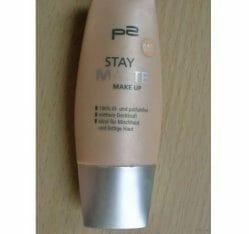 Produktbild zu p2 cosmetics stay matte make up – Nuance: 010 matte rose