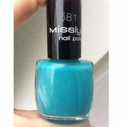 Produktbild zu Misslyn nail polish – Farbe: 581 Pool Party (LE)