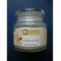 Produktbild zu PRIMARK Beauty Opia Vanilla Pod Scented Jar Candle