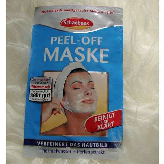 Schaebens Peel Off Maske