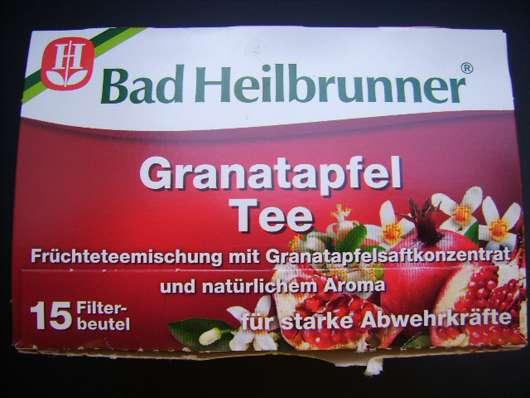<strong>Bad Heilbrunner</strong> Granatapfel Tee