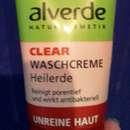 alverde Clear Waschcreme Heilerde (für unreine Haut)