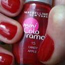 Maybelline Mini Colorama Nagellack, Farbe: 15 Candy Apple