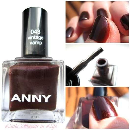 ANNY Nagellack, Farbe: 043 Vintage Vamp (LE)