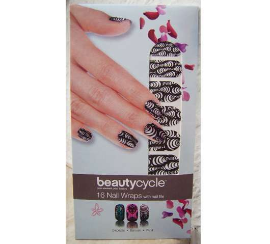 <strong>beautycycle colour</strong> Nail Wraps - Design: Wind