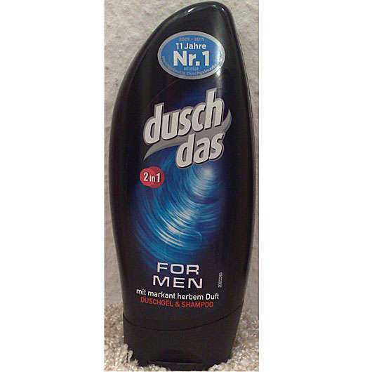 <strong>duschdas For Men</strong> 2in1 Duschgel & Shampoo