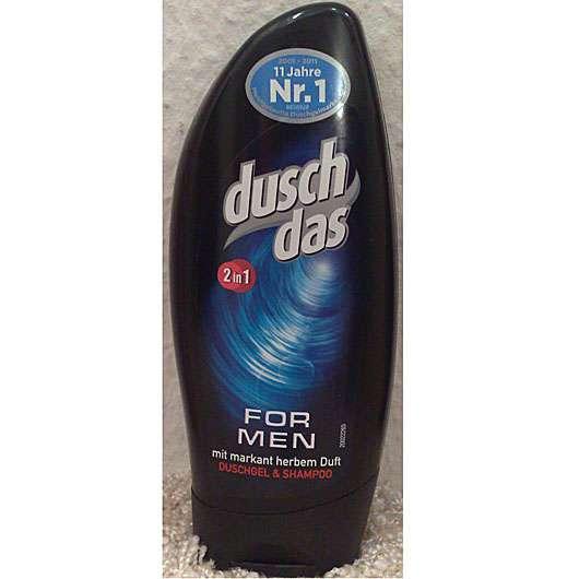 duschdas For Men 2in1 Duschgel & Shampoo