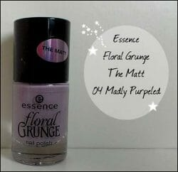 Produktbild zu essence floral grunge nail polish – Farbe: 04 madly purpeled (LE)
