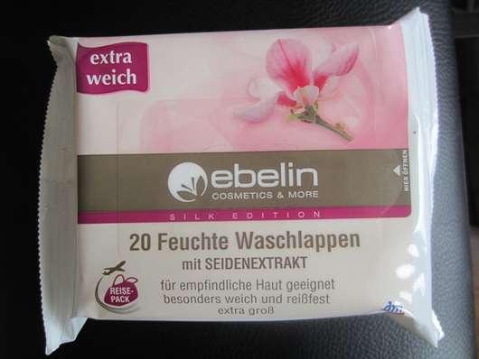ebelin 20 Feuchte Waschlappen mit Seidenextrakt