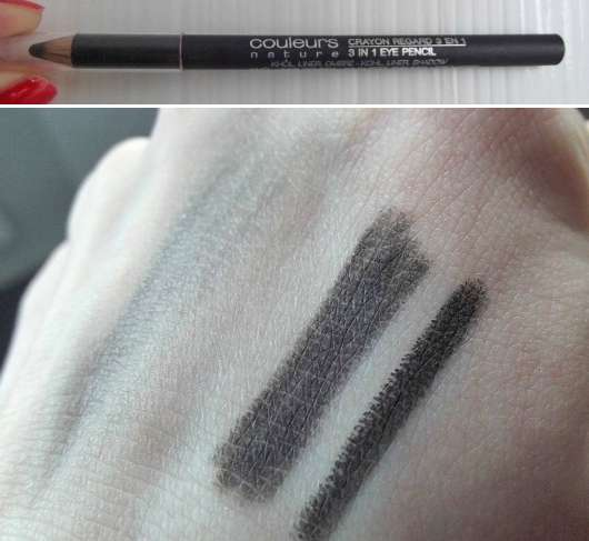 Yves Rocher Couleurs Nature 3in1 Eye Pencil, Farbe: 07 Anthracite
