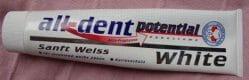 Produktbild zu all-dent potential Sanft Weiß Zahncreme