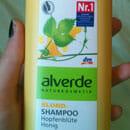 alverde Blond-Shampoo Hopfenblüte Honig