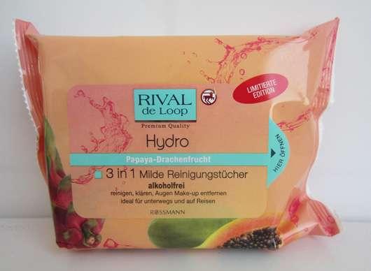 Rival de Loop Hydro 3in1 Milde Reinigungstücher Papaya-Drachenfrucht (LE)