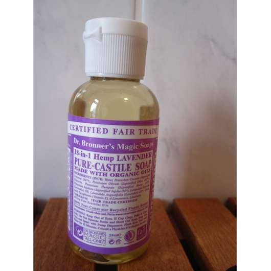 <strong>Dr. Bronner's</strong> Liquid Soap Lavendel