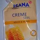 ISANA Creme Seife Milch & Honig