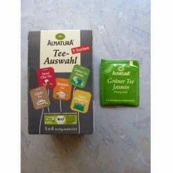 Produktbild zu Alnatura Teeauswahl – Grüntee Jasmin