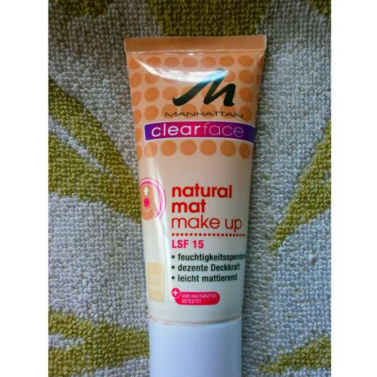 Manhattan Clearface Natural Mat Make Up, Nuance: 70 Vanilla