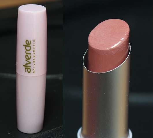 alverde Lippenstift, Farbe: 40 Federblüte (Feenzauber LE)