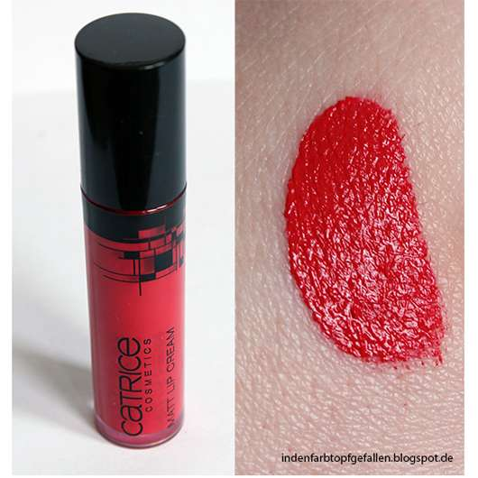 Catrice Matt Lip-Cream, Farbe: C01 Red (Geometrix LE)