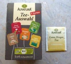 Produktbild zu Alnatura Teeauswahl – Guten Morgen Tee