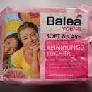 Balea Young Soft & Care Belebende Reinigungstücher
