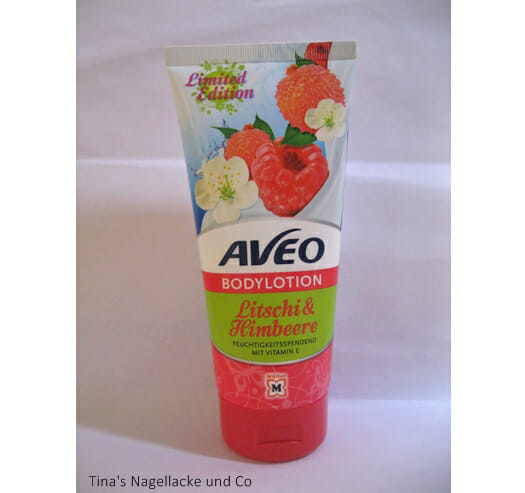 <strong>AVEO</strong> Bodylotion Litschi & Himbeere (LE)