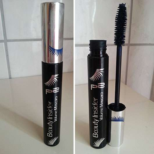 p2 beauty insider volume mascara, Farbe: 030 splashing blue