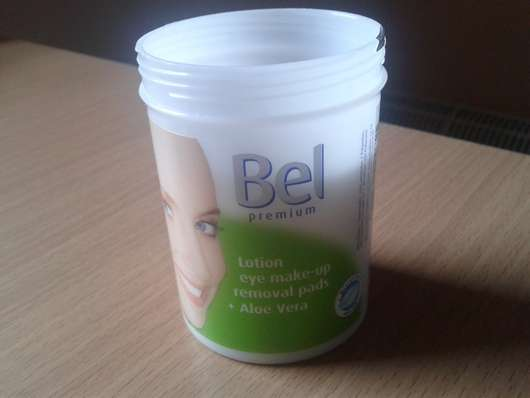 <strong>Bel Premium</strong> Lotion Eye Make-up Removal Pads + Aloe Vera
