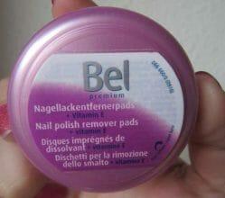 Produktbild zu Bel Premium Nagellackentfernerpads + Vitamin E
