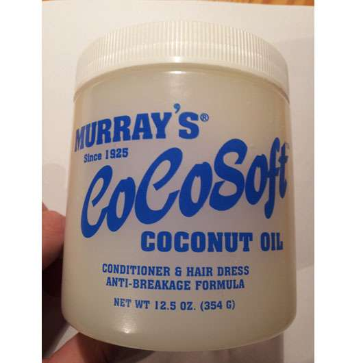 Murray's CoCoSoft Coconut Oil Conditioner & Hair Dress