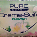 Pure & Basic Creme-Seife Flower