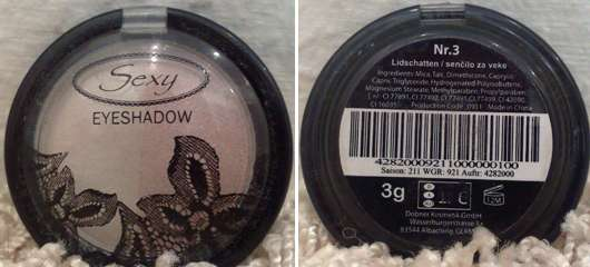 <strong>Dobner Kosmetik</strong> Sexy Eyeshadow - Farbe: 3