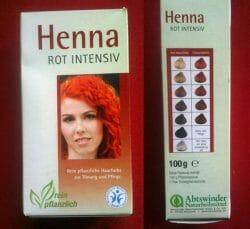 Produktbild zu Abtswinder Naturheilmittel Henna Rot Intensiv