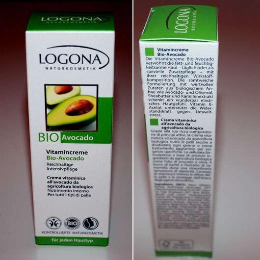 Logona Vitamincreme Bio-Avocado