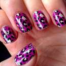 Misslyn nail polish strips, Design: 15 Pink & Rose