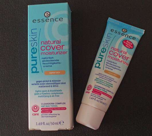 <strong>essence pure skin</strong> natural cover moisturizer - Farbe: lighter skin