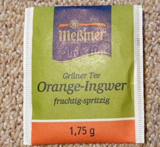 Meßmer Grüner Tee Orange-Ingwer