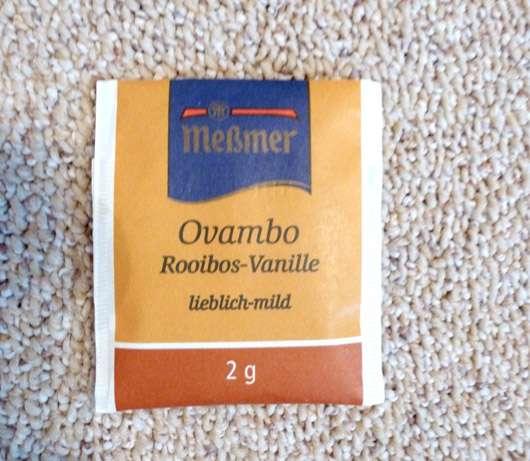 Meßmer Südafrikanischer Ovambo Rooibos-Vanille Tee