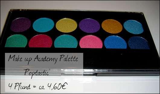 MUA Makeup Academy Eyeshadow Palette, Farbe: Poptastic