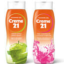 Zuwachs für die Creme 21 Lieblings-Duschen