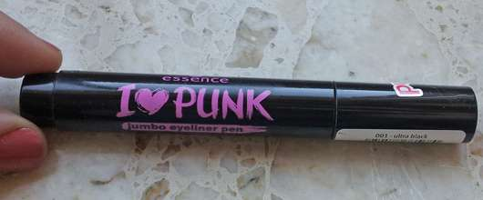 essence I love punk jumbo eyeliner pen, Farbe: 001 ultra black