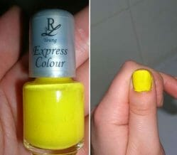 Produktbild zu Rival de Loop Young Express Colour Nagellack – Farbe: 17 Yellowness