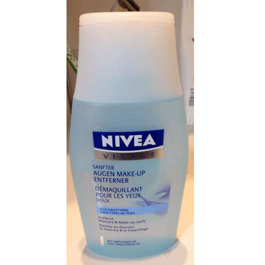 NIVEA Sanfter Augen Make-Up Entferner (für jeden Hauttyp)