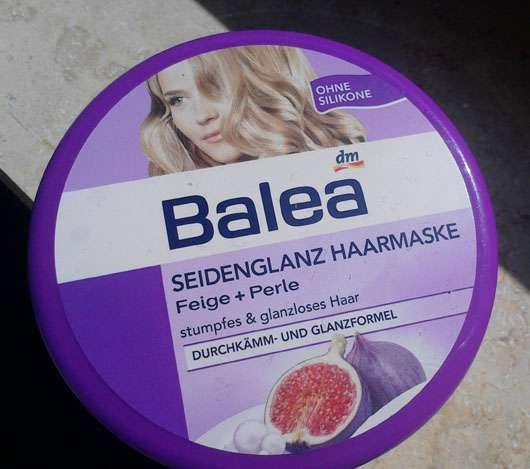Balea Seidenglanz Haarmaske Feige + Perle