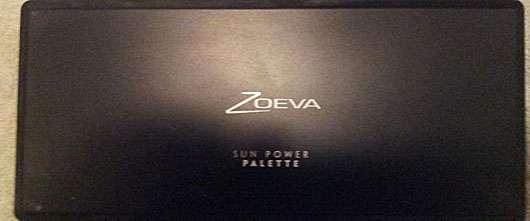 Zoeva Sun Power Rouge Palette
