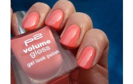 p2 volume gloss gel look nail polish, Farbe: 060 happy bride