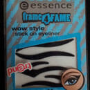 essence frame4fame wow style stick on eyeliner