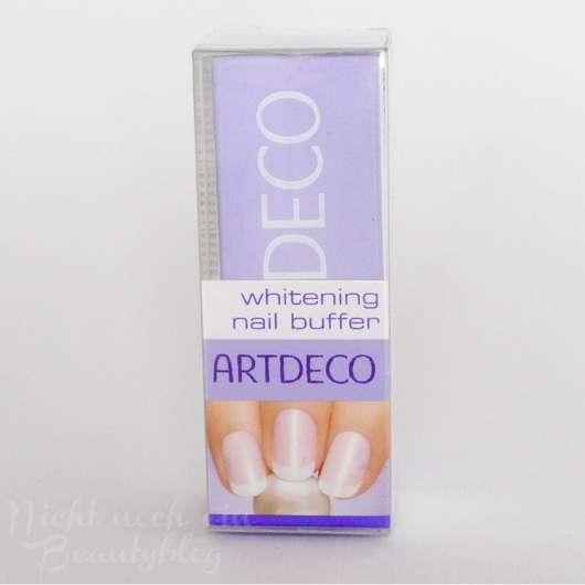 Artdeco whitening nail buffer