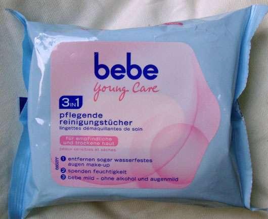 bebe Young Care 3in1 Pflegende Reinigungstücher (empfindliche & trockene Haut)